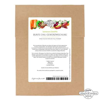 'Mixed colour ground chilli powder' seed kit