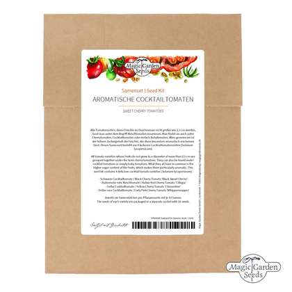 Sweet Cherry Tomatoes - Seed kit